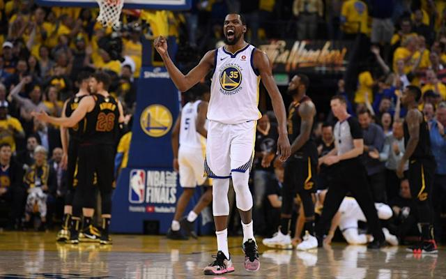 """You have a chance to demolish them, to take their heart. It's like my drug."" The Warriors saw a new, edgier KD this year, but the Finals MVP was wearing a familiar smile after a second straight title that came thanks to a second straight Game 3 dagger."