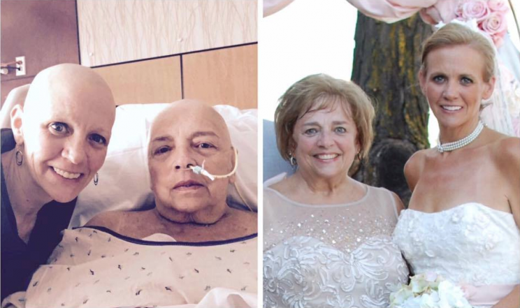This Mother and Daughter Are Going Through Cancer Together
