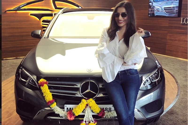 Actress Sophie Choudry Buys Mercedes-Benz GLC SUV Worth Rs 54 Lakh