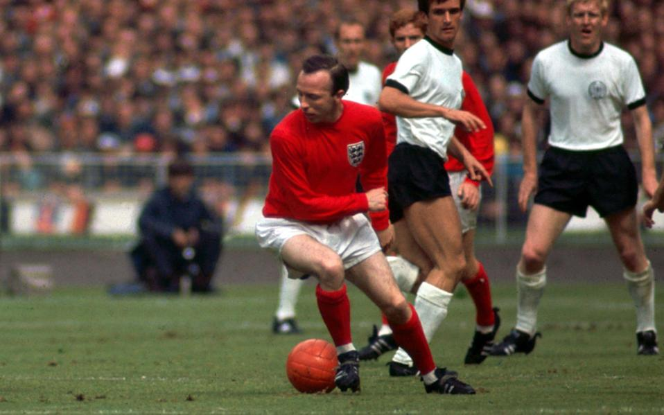Stiles in action during the 1966 World Cup final - TRINITY MIRROR/MIRROR PIX/ALAMY STOCK PHOTO
