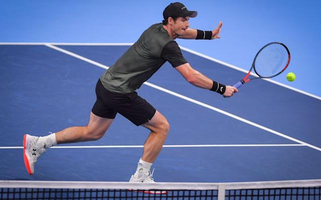 Andy Murray only faced four break points on way to win - Getty Images