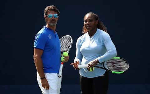 <span>Patrick Mouratoglou and Serena Williams have worked together for six years </span> <span>Credit: Getty Images </span>