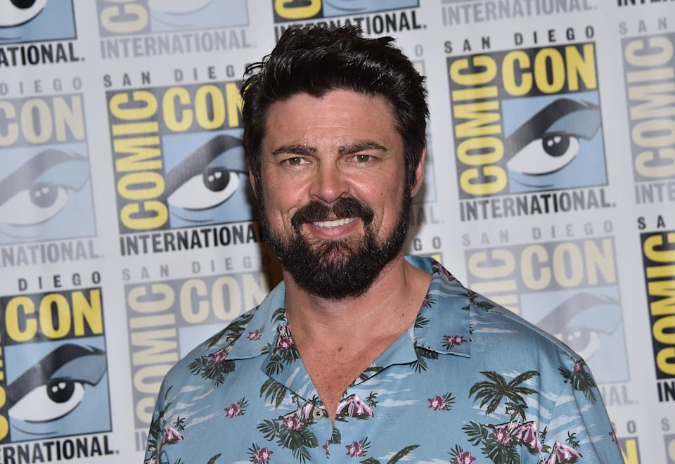 Karl Urban during San Diego Comic Con on July 19, 2019. (Photo by Chris Delmas/AFP via Getty Images)