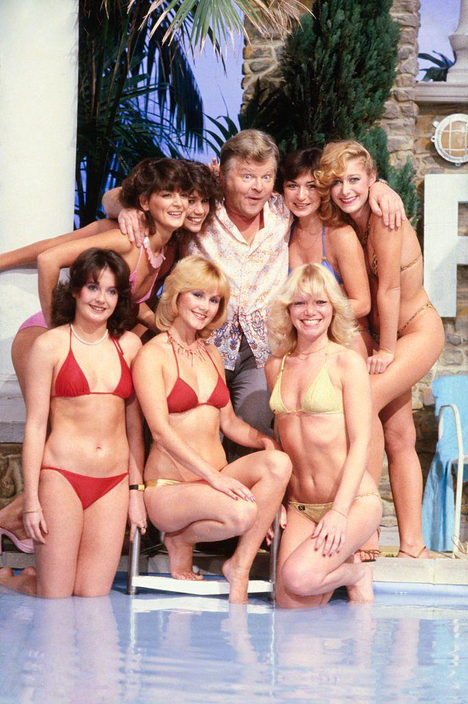 <p>A show where a kinda creepy old man chases around half naked women during the show's closing theme? Yeah, no. The clever slapstick, double entendres, and sight gags could be seen as playful in the '70s…but also gross and predatory.</p>