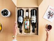 """<p><strong>winc</strong></p><p>joyus.com</p><p><strong>$26.00</strong></p><p><a href=""""https://www.joyus.com/sales/winc-wine-delivery-4-bottles"""" rel=""""nofollow noopener"""" target=""""_blank"""" data-ylk=""""slk:Shop Now"""" class=""""link rapid-noclick-resp"""">Shop Now</a></p><p>Yes, you can really gift your bestie (or mom!) a wine subscription. And yes, right now it's being offered for less than $30. </p>"""