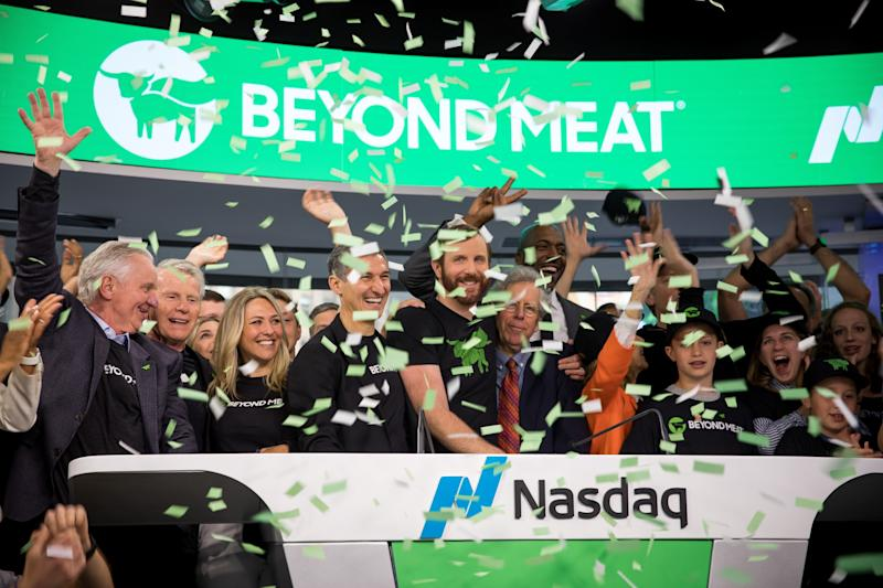 Plant-based burger maker Beyond Meat beats forecasts in 1Q