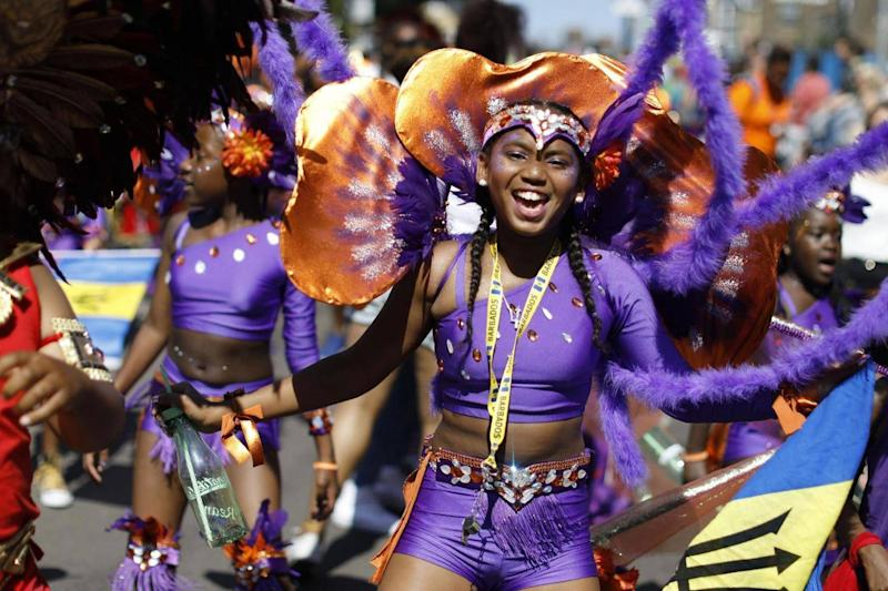 Notting Hill Carnival will take place over the bank holiday weekend (AFP/Getty Images)