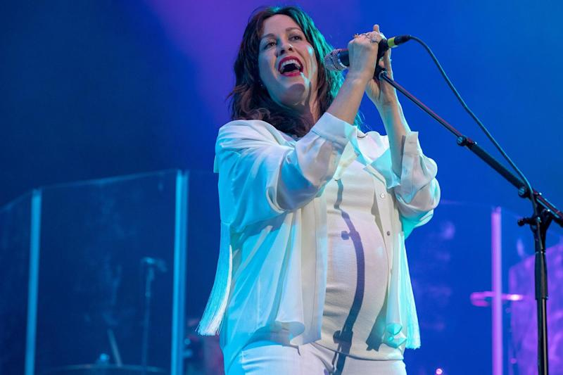 Alanis Morissette performs in Arlington, Texas on 10 May, 2019: SUZANNE CORDEIRO/AFP via Getty Images