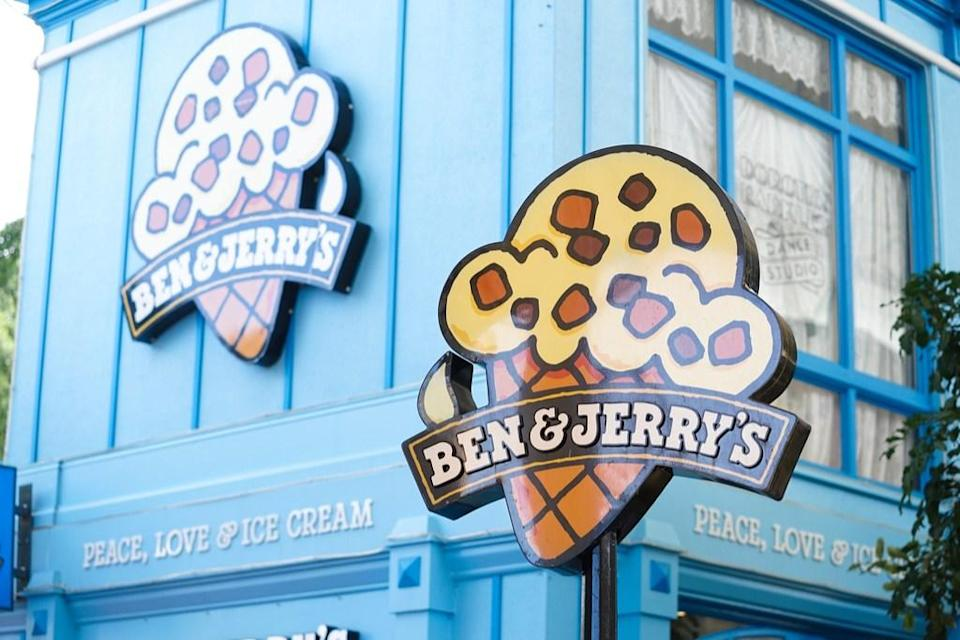 "Yes, we know the men behind Ben & Jerry's ice cream—<strong>Ben Cohen and Jerry Greenfield</strong>—grew up in New York, but this frozen dessert treat and the state of Vermont go hand-in-hand. Ben & Jerry's was officially born in the bustling college town of <a href=""https://www.benjerry.com/about-us"" rel=""nofollow noopener"" target=""_blank"" data-ylk=""slk:Burlington, Vermont"" class=""link rapid-noclick-resp"">Burlington, Vermont</a> in 1978. Ever since, Greenfield has called the state home."