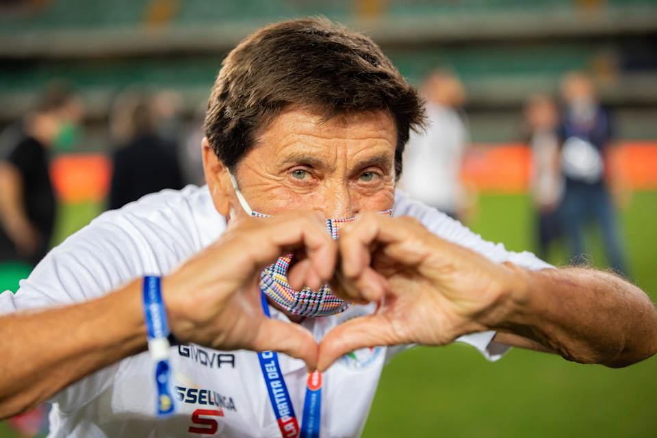 Gianni Morandi (Photo by Alessandro Bremec/NurPhoto via Getty Images)
