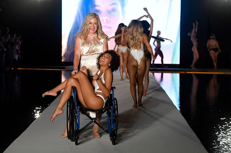The model absolutely owned her moment [Photo: Getty]