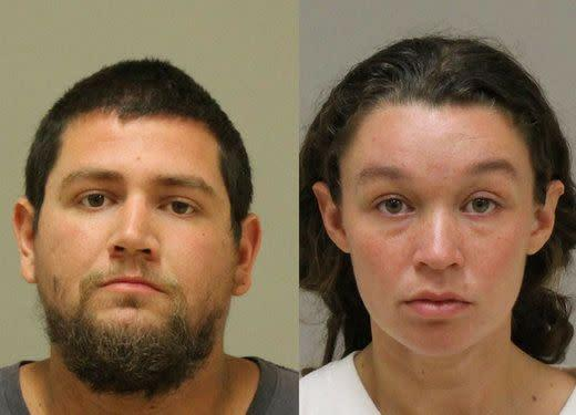 Seth Welch and his wife, Tatiana Fusari, remain in jail without bond. (Photo: Kent County Sheriff's Office)