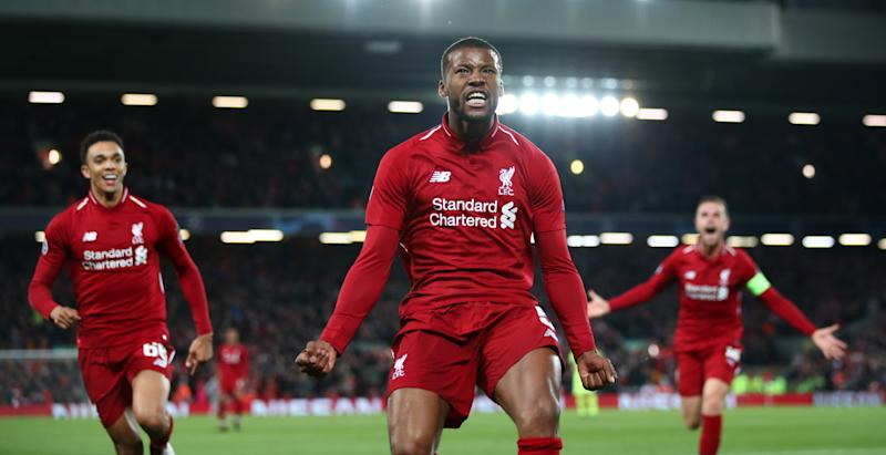 'Liverpool deserve a trophy' - Wijnaldum targets Champions League after title disappointment