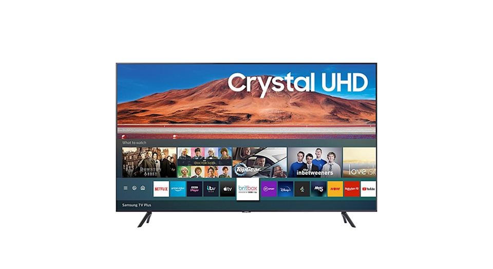 Samsung 65 inch, Crystal View, 4K Ultra HD, HDR, Smart TV