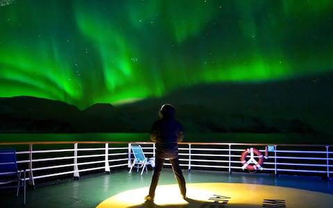 Hurtigruten offers a second week-long voyage for free if the lights don't appear on the first occasion - Credit: Hurtigruten