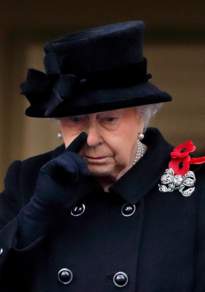 The Queen delegated her wreath-laying duties to Prince Charles at the Remembrance Day ceremony this year while she watched from a balcony. Source: Getty