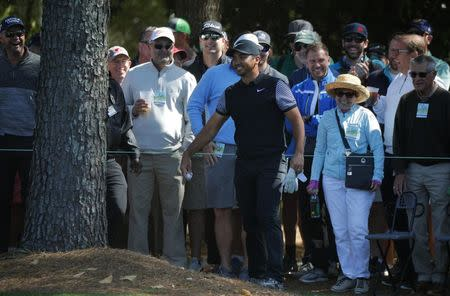 Sergio Garcia ties ugly Masters record with 13 shots on single hole