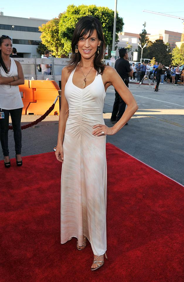 """<a href=""""http://movies.yahoo.com/movie/contributor/1800165147"""">Perrey Reeves</a> at the Los Angeles premiere of <a href=""""http://movies.yahoo.com/movie/1810155680/info"""">The Change-Up</a> on August 1, 2011."""