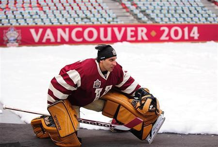 NHL: Heritage Classic-Practice Day