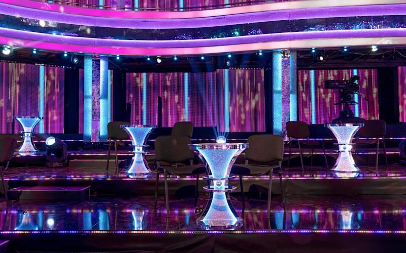 Cabaret tables will be set up to ensure the couples are able to social distance
