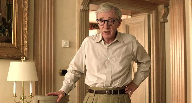 Woody Allen en A Roma con amor (©Sony Pictures Classics)