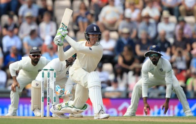 Keaton Jennings has played 17 Tests for England (Adam Davy/PA)