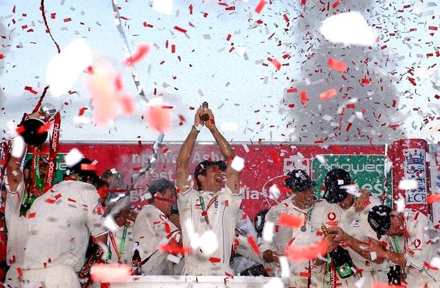England clinched the Ashes at the Oval in 2005 (Chris Young/PA)