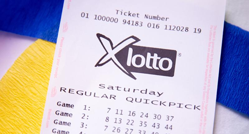 The man learned he was $2 million richer shortly after finding his forgotten ticket. Source: The Lott
