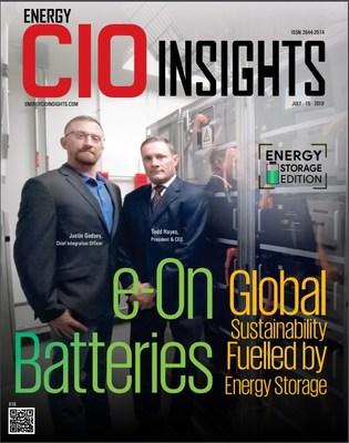 Energy CIO Insiders annual Top 10 Energy Storage Solution providers 2019 edition.