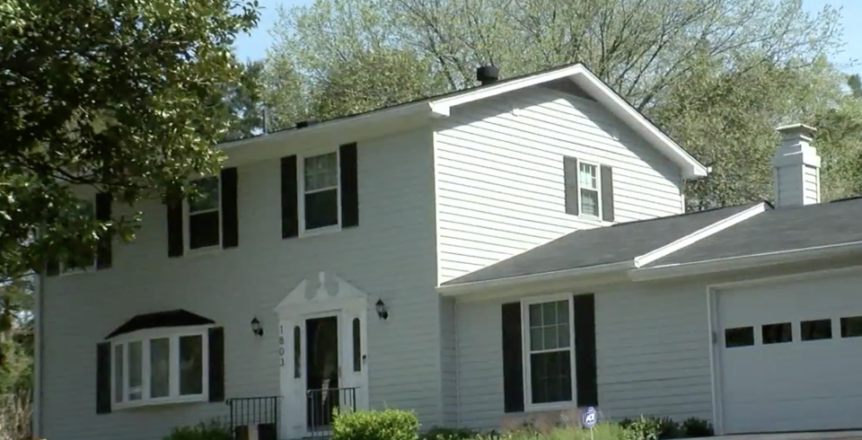 A home in Reston where the au pair noticed the camera. Source: WJLA