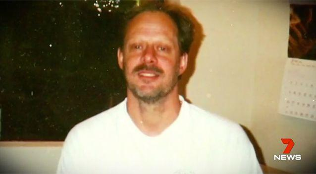 Stephen Paddock opened fire on a crowd in Las Vegas. Source: 7 News