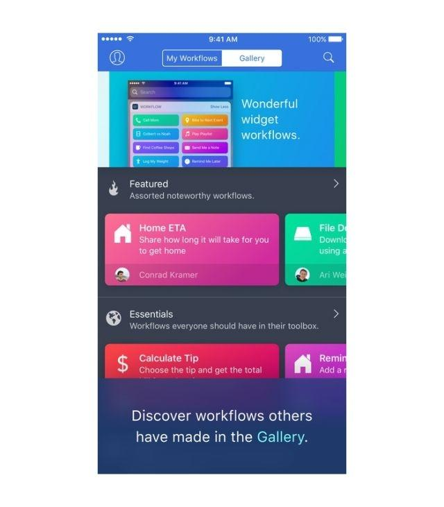 Apple Acquired Workflow App Which Brings Automation Features To iOS