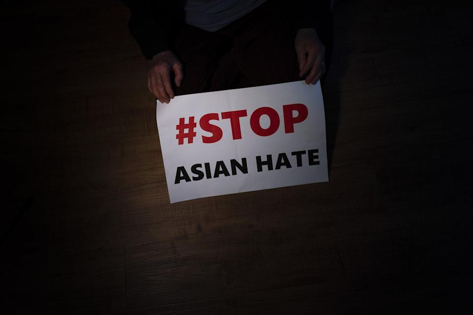 Thousands of cases of anti-Asian hate have been reported in the US since the pandemic, according to advocacy groups. Photo: AP