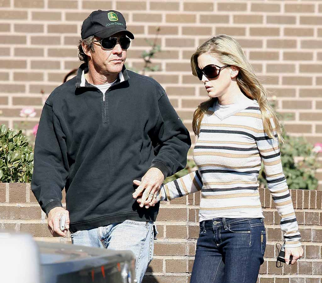 "Unfortunately, there were no getting away for Dennis Quaid and his wife Kimberly. Their newborn twins remained hospitalized over Thanksgiving after being given a massive overdose of a blood thinning drug. <a href=""http://www.x17online.com"" target=""new"">X17 Online</a> - November 23, 2007"