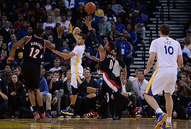 The 10-man rotation, starring Stephen Curry, who gets 'salty' when you say he's not a point guard