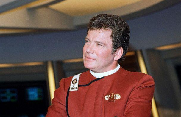 PHOTO: William Shatner, who portrays Capt. James T. Kirk, attends a photo opportunity for the film 'Star Trek V: The Final Frontier.' (Bob Galbraith/AP, FILE)