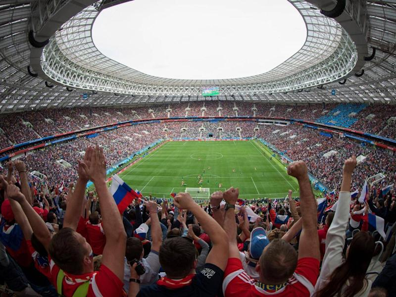 Last summer's World Cup was hailed as a triumph by president Vladimir Putin (Getty)