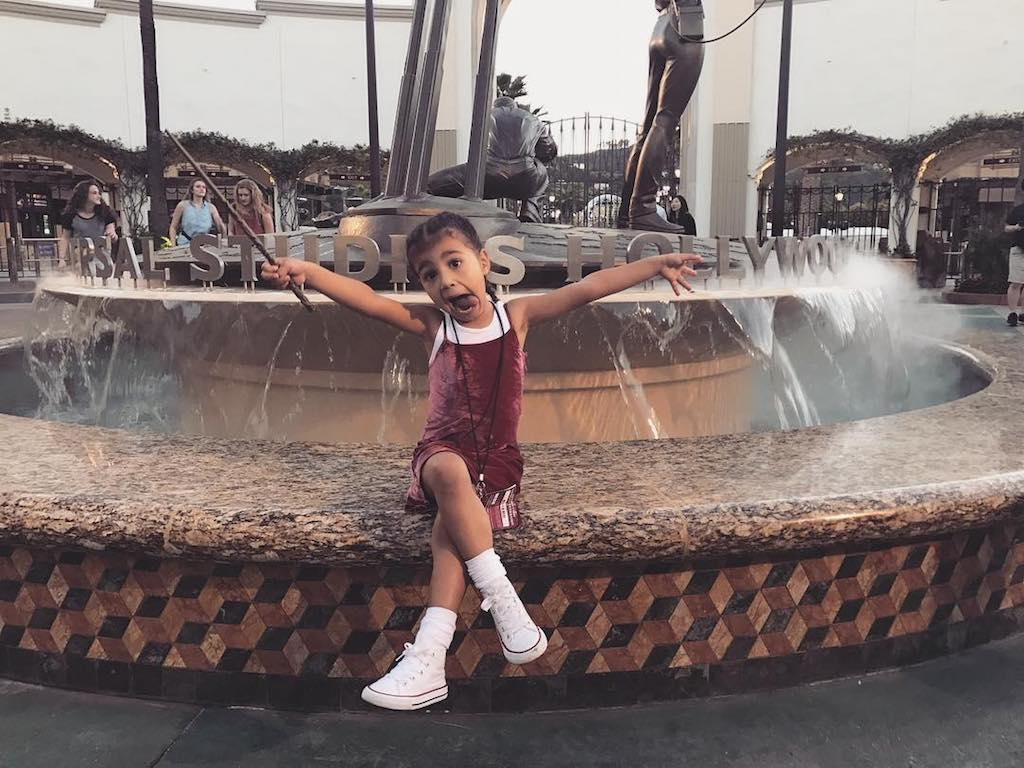 """<p></p><p><span>Kim Kardashian <a rel=""""nofollow"""" href=""""https://www.yahoo.com/celebrity/kim-kardashian-hits-100-million-instagram-followers-162532774.html"""">celebrated reaching 100 million Instagram followers</a> with this adorable snap of North West visiting Universal Studios Hollywood. """"S</span>he has no clue what 100 million followers means but she's excited cause i'm excited lol thanks for the follows and the love,"""" wrote the reality star. <span>(Photo: <a rel=""""nofollow"""" href=""""https://www.instagram.com/p/BUQfHv2lwon/""""><span>Kim Kardashian </span>via Instagram</a>)</span> </p><p></p>"""