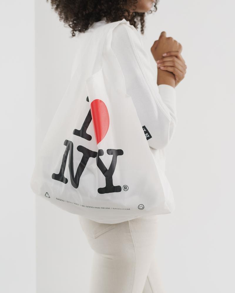 <p>How cute is this <span>I Love NY Standard Baggu</span> ($12)?</p>
