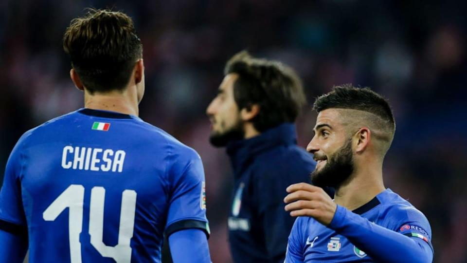 Chiesa e Insigne in Nazionale | Soccrates Images/Getty Images