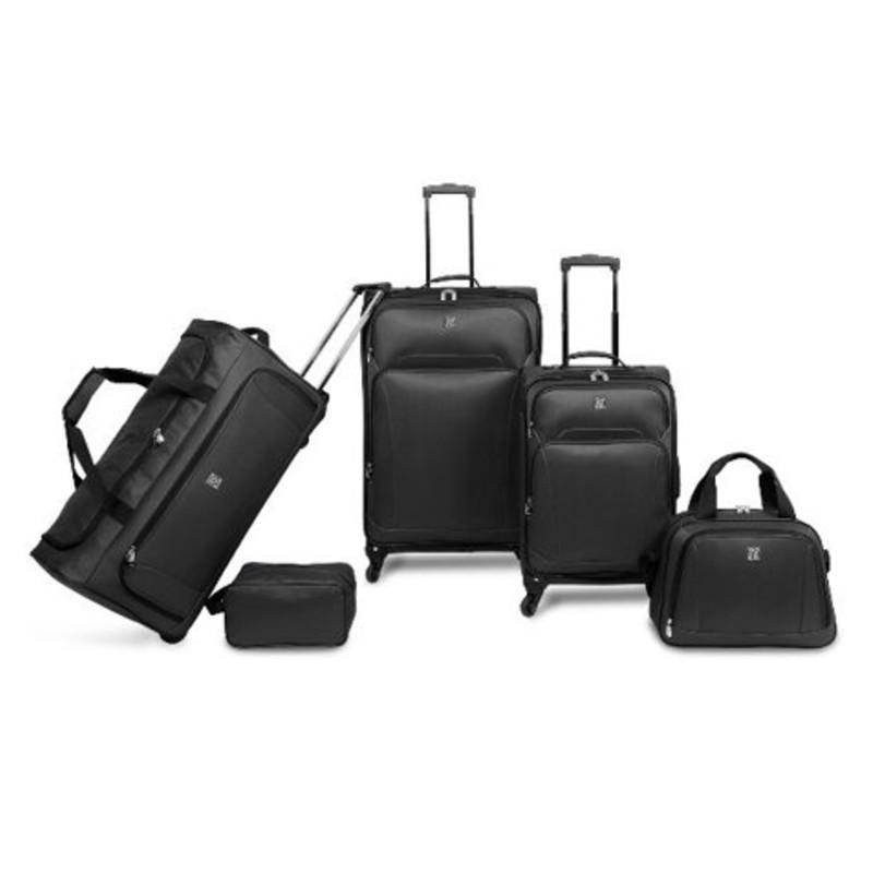 Protege 5 Piece Luggage Set w/ Carry On and Checked Bag (Photo: Walmart)