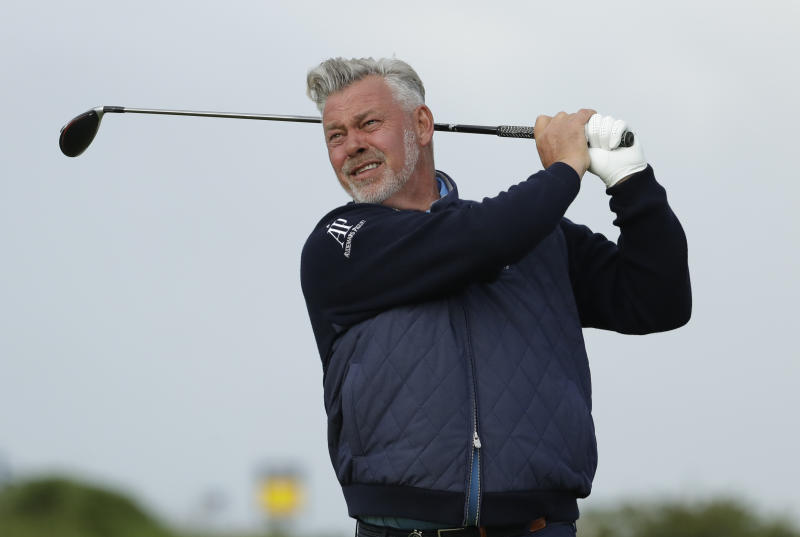 Local favorite Clarke makes bright start at damp Portrush