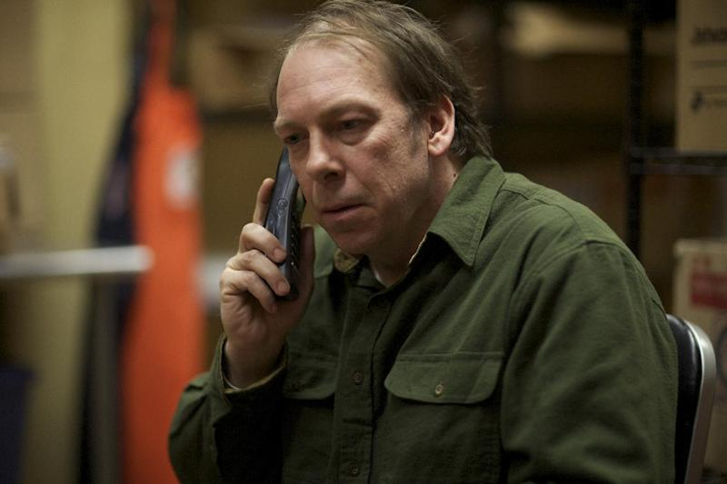 """FILE - This undated publicity file photo released by Magnolia Pictures shows Bill Camp in a scene from the film, """"Compliance,"""" a Magnolia Pictures release. (AP Photo/Courtesy Magnolia Pictures, File)"""