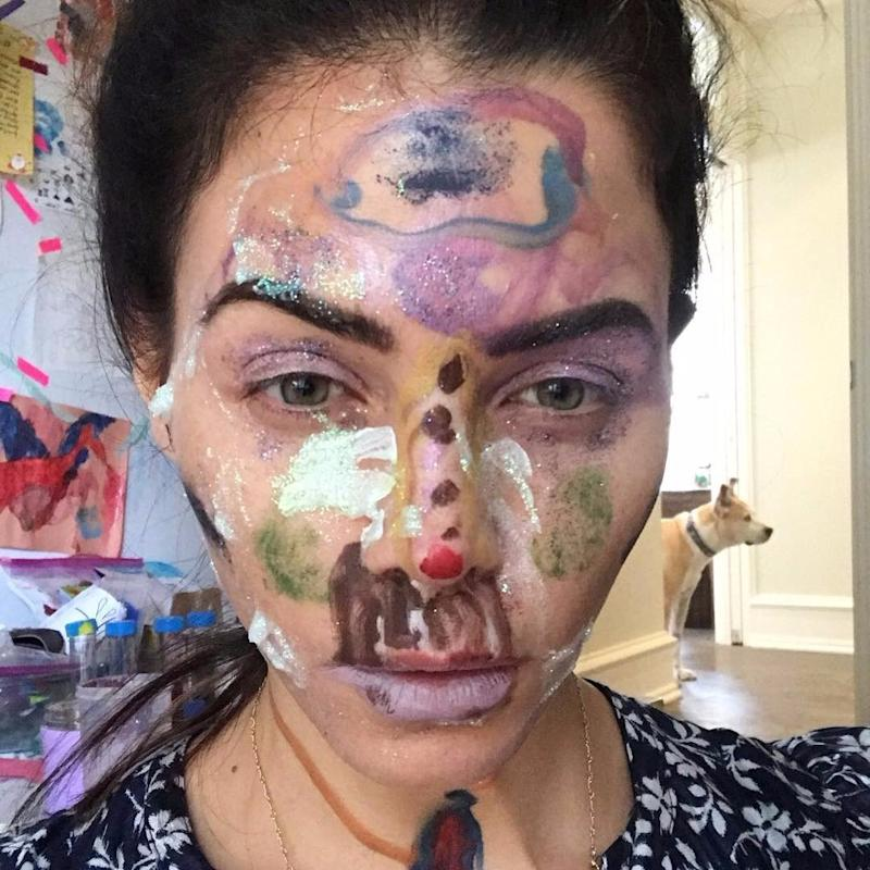 jenna dewan tatum s 4 year old did her crazy makeup and that s not