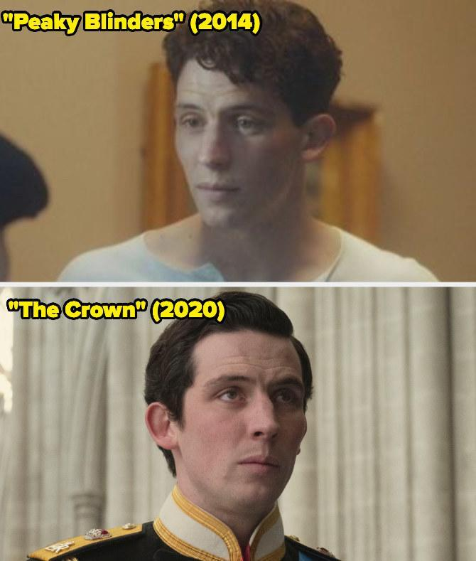 Then: He played James for a few episodes on Peaky Blinders.Now: He won the Emmy forOutstanding Lead Actor in a Drama Series for his portrayal of Prince Charles on The Crown.