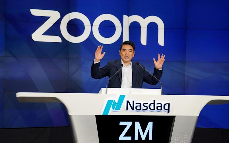 Zoom, Peloton and Netflix shares sink following vaccine breakthrough