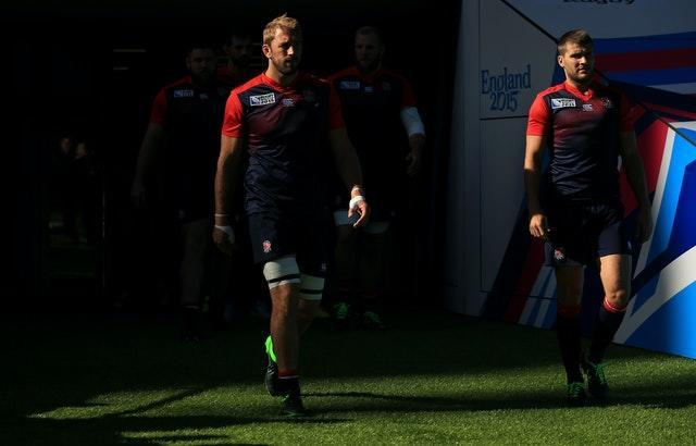Former England captain Chris Robshaw (left) and Richard Wigglesworth are among those to issue apologies