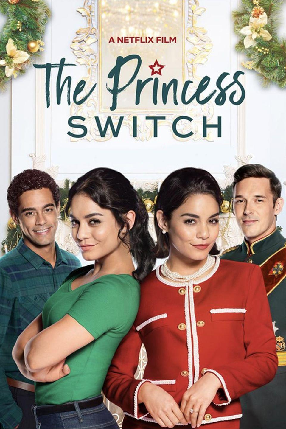 """<p>Before seeing the latest installment in this identity-swapping trilogy, why not take a watch down memory lane? In <em>The Princess Switch</em>, <a href=""""https://www.womenshealthmag.com/beauty/a34564334/vanessa-hudgens-skincare-routine/"""" rel=""""nofollow noopener"""" target=""""_blank"""" data-ylk=""""slk:Vanessa Hudgens"""" class=""""link rapid-noclick-resp"""">Vanessa Hudgens</a> plays a single American baker who enters a baking competition in Belgravia. While she's there, she meets a woman who looks <em>just</em> like her and is engaged to a prince. The two switch lives for a bit and—surprise, surprise—romantic entanglements ensue.</p><p><a class=""""link rapid-noclick-resp"""" href=""""https://www.netflix.com/title/80242926"""" rel=""""nofollow noopener"""" target=""""_blank"""" data-ylk=""""slk:Watch Now"""">Watch Now</a></p>"""