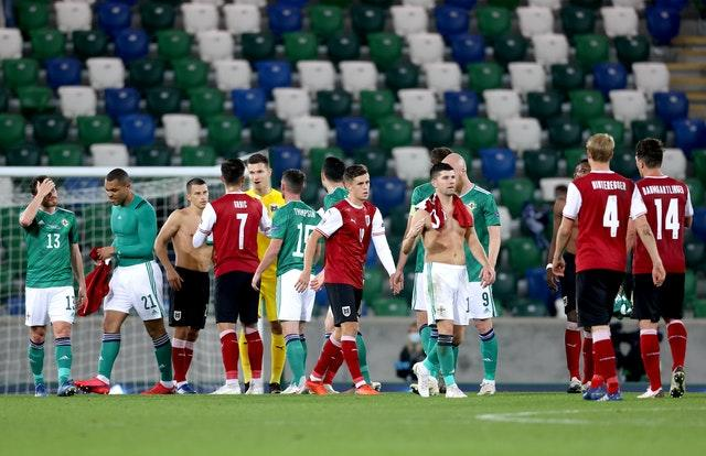 Northern Ireland suffered their sixth defeat in seven Nations League matches on Sunday