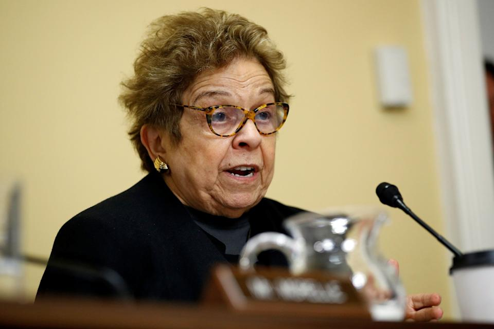 Rep. Donna Shalala (D-Fla.) was defeated in a surprise loss to Republican challengerMaria Elvira Salazar on Tuesday. (Photo: POOL New / Reuters)